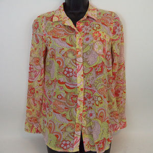 Old Navy Women's Colorful Blouse S CL1268 0719